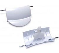 Ручка люка в СБОРЕ, (Bosch 00183608 + 00184435, 00483087), зам. WL238, WL238A, 609216 DHL005BO