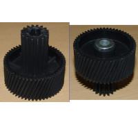 Шестерня c металлической вставкой для мясорубок Vitek/Dex, Д-51,5/22мм, зубья 53/16шт. H-49мм (Косой/прямой) z41.052-VT