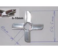 Нож для мясорубки Bork, Zelmer, Mouilinex HV8 (новый тип), зам. A755469, MGR104UN, N430 ZL005