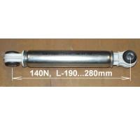 Амортизатор 140N, L190-280mm, втулка-8mm, MIELE-BOSCH, зам.12ph06 SAR002MI