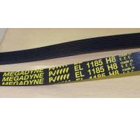 Ремень 1185 H8_EL, черн.<1137mm>megagyne OAC259998