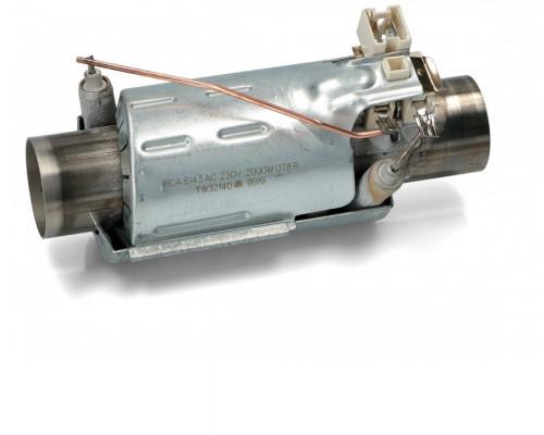 ТЭН проточный для ПММ 2000W, (L-145, D32mm) IRCA, зам. 11114...