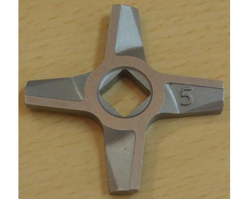 Нож для мясорубок Zelmer №5, двухсторонний BOSCH A861009, 75...