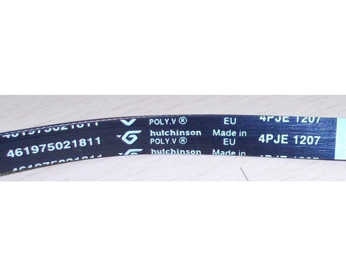Ремень 1207 J4, чер.<1130mm>, замена481235818161, 4819...