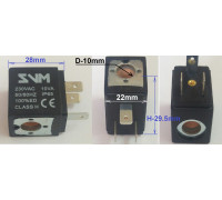Катушка клапана, (соленоид) 230-10VA VE99056