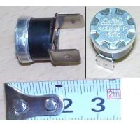 Термостат 132°C, клемма 6.3mm (нормально замкнут) E124k
