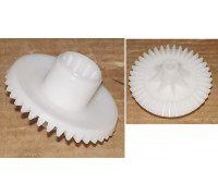 Шестерня мясорубки Philips (СРЕДНЯЯ из блока шестеренок HR76), коническая, D=76/30/14mm H=48/9, d=7, 38 зубьев PH016