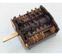 Переключатель духовки ПМ-16-5-19  (аналог ПМЭ-27-2353П) для Лысьва, Мечта, Дарина, Омичка и др. PKD003