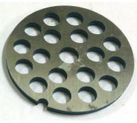 Решетка мясорубки Помощница D=53,5mm h=3mm, отв.-7.2mm RPM007