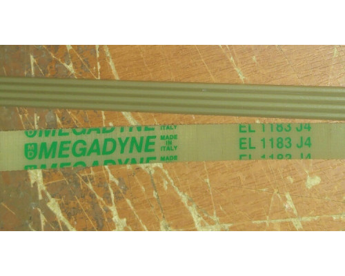 Ремень EL 1183 J4, чер.<1119mm> megadyne...