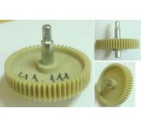 Шестерня с метал.валом шестигр.-8mm, D=86/20/12mm, H73/34/17, зуб-56шт(прямые) z41.111-PN