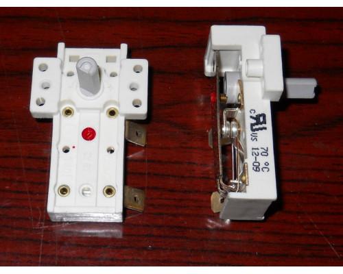 Термостат для масл.радиатора 70°C, шток-15мм campini-Italy, ...