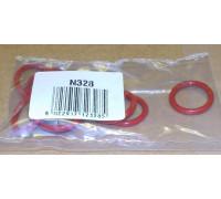 Прокладка уплотнительная, кольцо (резин.Красная,  N328