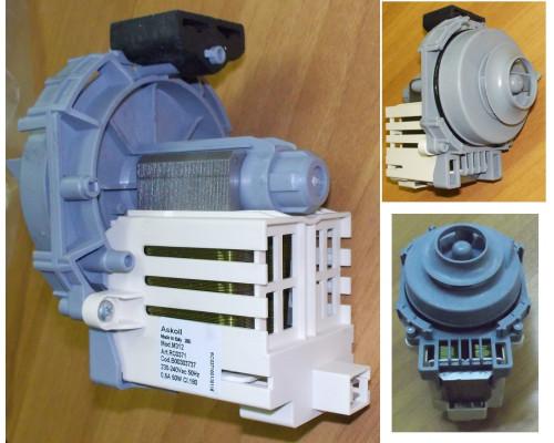 WASH MOTOR/PUMP 240V 60w+ SEAL (DW) (Насос циркуляции), зам....