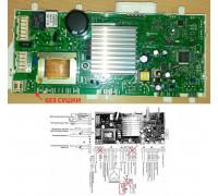 Эл.Модуль управления СМА (для моделей БЕЗ СУШКИ, без блокировки бака), замена C00254298 MOD007ID