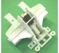 Замок двери ПММ+ручка белая, (039361-ручка черная) 039341