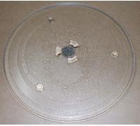 Тарелка для СВЧ 255mm, (с крепл.2руб.),SAMS DE74-00027A, зам. MCW014UN, 95pm16, N722 MA0115W