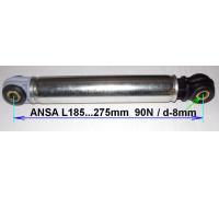 Амортизатор ANSA 90N_185-275mm (втулка-8x24), BOSCH 118869, зам.AC5000 WK221