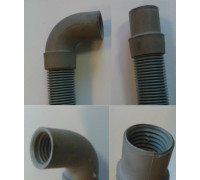 Шланг сливной, Г-образн. 1.5m, D-19/20, GORENJE 131305, замена AV1315 00ts31