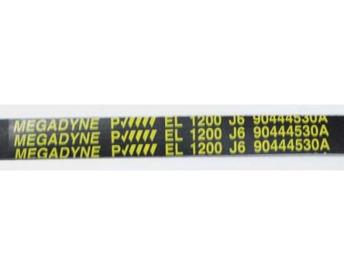 Ремень 1200 J6_EL черн. <1163mm> megadyne, зам.1240210...