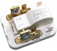 Реле компрессора SECOP 103N0021, клемма 4,8mm. 220/240V - 25om, зам. 29FR810, 29FR010 RLY007DF