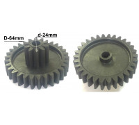 Шестерня Vitek/Elenberg/Polaris, D=64/24mm, H30/13, отв.8mm z41.040-VT