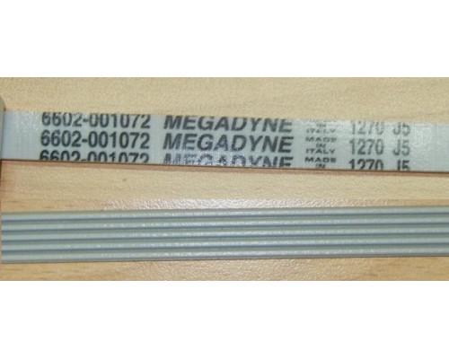 Ремень 1270 J5, бел.<1267mm> megadyne (samsung), зам.B...