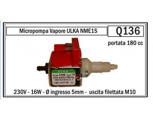 Насос ULKA NME1S 16W (180cc/min_3,2bar), RACC.M10x1...
