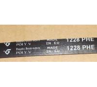 Ремень 1228 H7 EL, черн. <1166mm> Hatchinson WN913