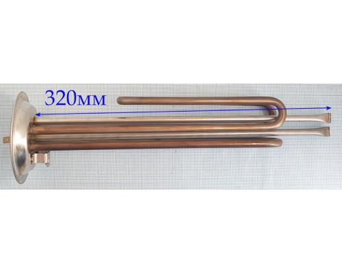Тэн для водонагревателя 2000W (700W+1300W)  Фланец 92mm (НЕР...