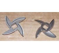 Нож для отечественных мясорубок (647589), под шнек 8x8mm, зам. MM0109W N001un