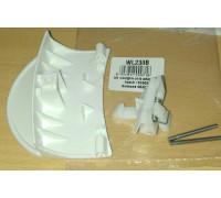 Ручка люка Bosch, Белая (в сборе с крючком 183608 + 483087), зам. DHL005BO WL238B