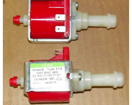 Насос ULKA Ep5 48W 230V, (650cc/min_15bar), зам.49028861u, 5...