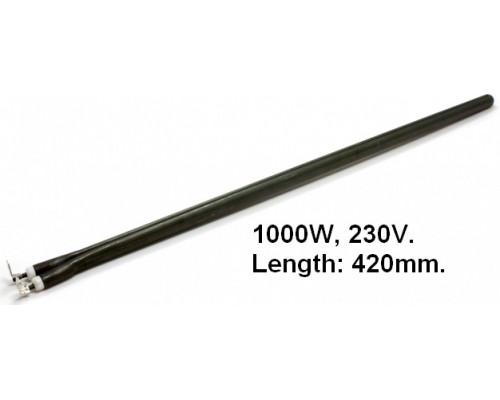 Тэн для водонагревателя 1000Вт, длина 400, стержень, зам.16r...