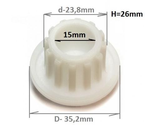 Втулка шнека Zelmer/Philips (861203), зам. ZL009 , 420306564...