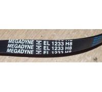 Ремень 1233 H8_EL <1180mm> megadyne, зам.651009076, 416004300, BLH320UN WN534