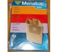 Мешки Menalux 2585P, Бумажные, для пылесоса Bosch (тип.BBZ 21, BMZ 21), Siemens (VZ 92351, TYPE X), Rowenta, Karcher, Philips, Hoower и др. (4-пылесборника) 9001961748