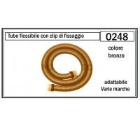 Шланг для пылесоса 18 м с фитингами (бронзовый) O247 O248