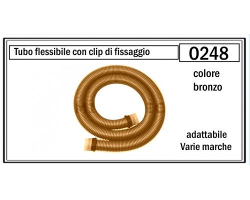 Шланг для пылесоса 18 м с фитингами (бронзовый) O247...