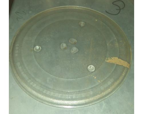 Тарелка для СВЧ Daewoo 285mm (с крепл.5коп.), зам. N711, 980...