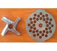 НОЖ + РЕШЕТКА для мясорубки (шестигранный) MOULINEX, MS-0926063+MS033 N436A
