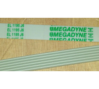 Ремень 1195 J6_EL бел.<1141mm> megadyne, зам. 1462477009 WN250