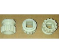 Втулка шнека мясорубки Bosch (пластик), зам. 753348un, A753348 z99.01-BH