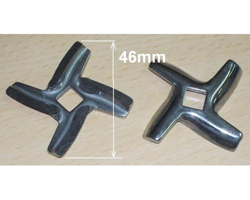 Нож для мясорубки MOULINEX-квадрат MM01W07 (a10, b46, h4.7mm...