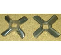 Нож для мясорубки отв.-10.5mm, B-55mm, Moulinex HV8 SS-193517, зам. MGR104UN, ZL005, A755469, N430 MM0107W