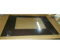 BROWN OVEN DOOR GLASS + SQUAD. (407x570mm) 093335