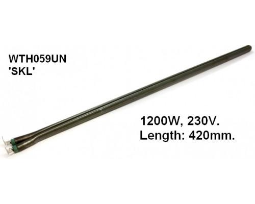 Тэн для водонагревателя 1200w стержень L-400mm, SKL, зам.16r...
