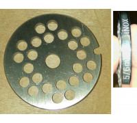 Решетка мясорубки D-53.5mm, отв.6mm, BRAUN, Bosch-00620950 Bo002