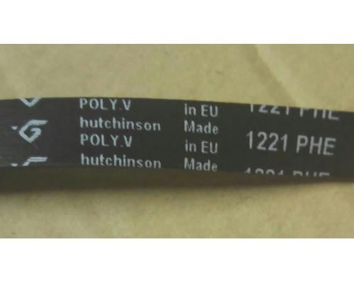 Ремень 1221 H7_EL, черн.<1166mm> Hatchinson, зам.05694...
