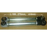 Амортизатор 120N ANSA, L-185...275mm, d-8mm, MIELE-4500826, Bosch-107654, зам. 78MI001, WK230, 78MI101 12ph28